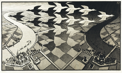 Escher, mathematician or artist?