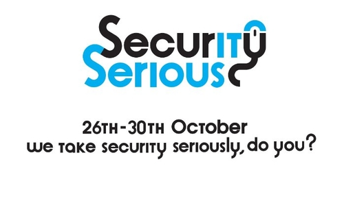 Security Serious Week 2015 26th-30th October