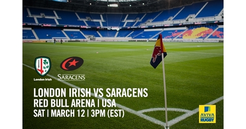 London Irish V Saracens in New Jersey, USA - Round 16