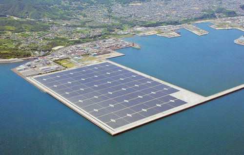 India's Plans to Build the World's Largest Floating Solar Farm