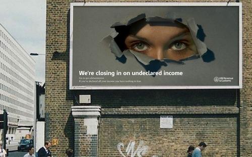 Tax evaders beware!