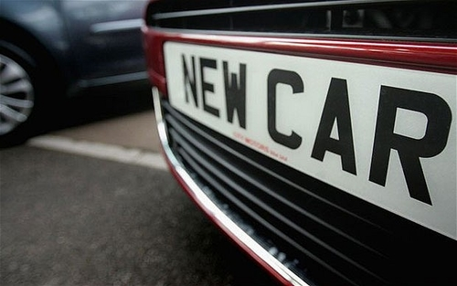 Car registrations rise to 10 year high