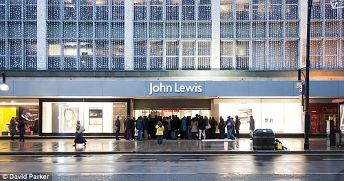 Holiday pay: 12million bill for John Lewis