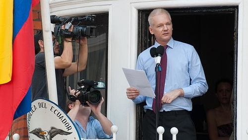 Assange could be in it for the long haul