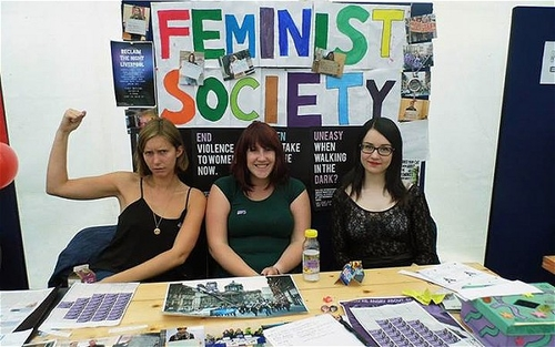 Student feminist societies surge : meet the new generation of 'bold, hilarious feminists'