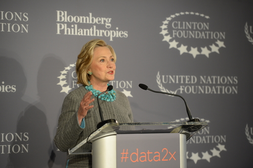 Hillary Clinton's Data2x : Using big data to solve gender issues