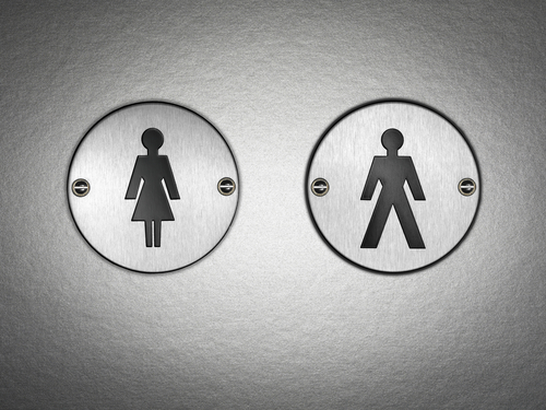 The Everyday Sexism of Women Waiting in Public Toilet Lines