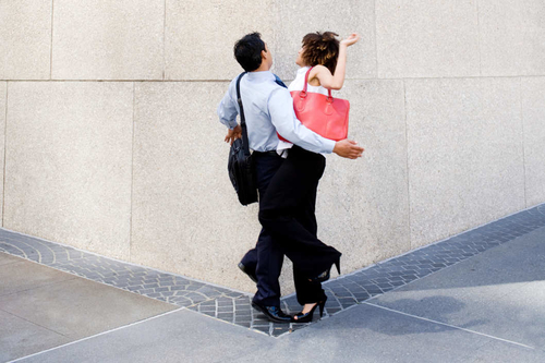 What Happens When a Woman Walks Like a Man ?