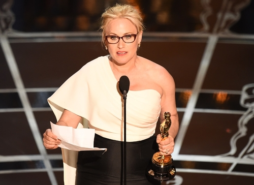 Patrica Arquette on pay equality : Insulting to feminism