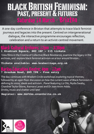 I too am Black and a Feminist : On the importance of Black British Feminism