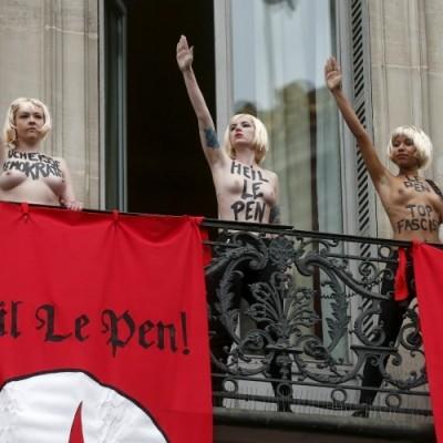 Qui est Sarah Constantin, la Femen derrière l'action du 1er mai ?
