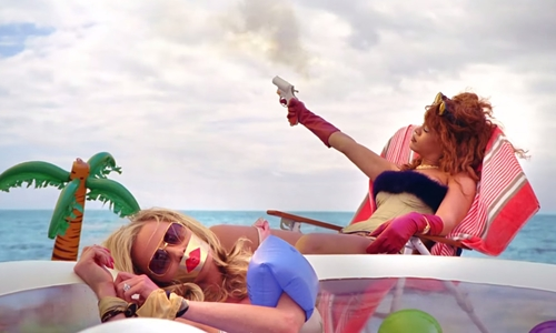 Feminists fall out over 'violent, misogynistic' Rihanna video