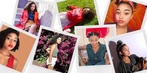 Amandla Stenberg is a new kind of Hollywood role model - one we desperately need