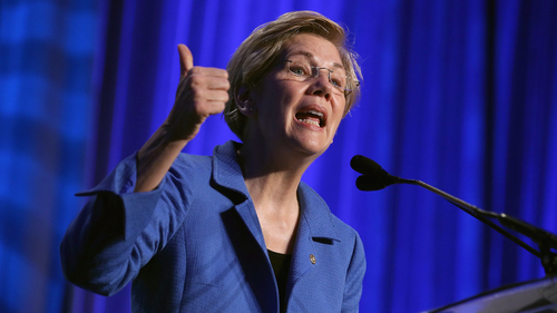 Warren Puts $10trillion Price Tag on Swaps Push Out Rule