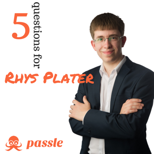 Traditional meets digital: 5 questions for Rhys Plater