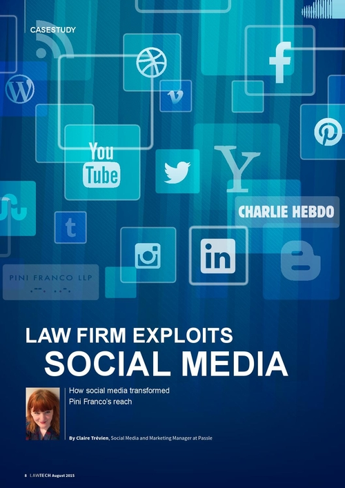 Law Firm Exploits Social Media: Pini Franco Case Study