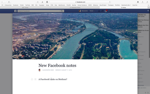 Will Facebook's Notes Overtake Medium?