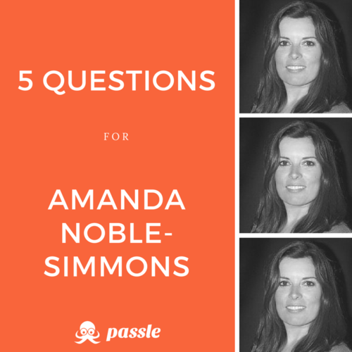 'Always exceed expectations': 5 questions for Amanda Noble-Simmons