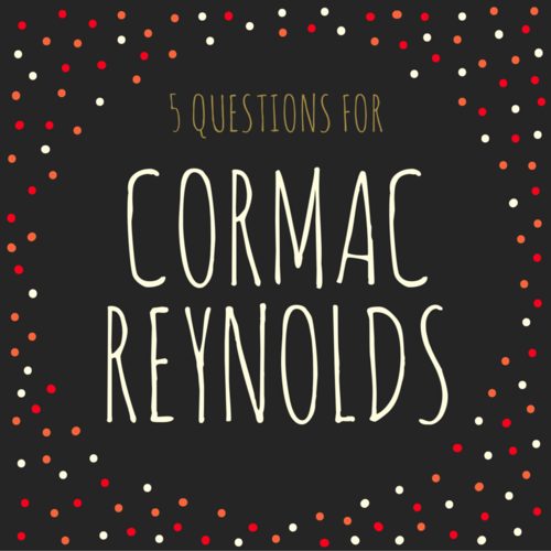 'Narrow down': 5 Questions for Cormac Reynolds