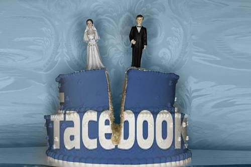 Facebook now crops up in a third of divorce cases over cheating and old flames
