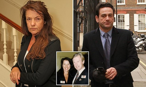 Handyman for Formula One hero's ex-wife is now battling for a share of her £10m fortune