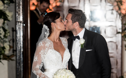 Frank Lampard and Christine Bleakley marry: star-studded wedding ceremony for celebrity couple
