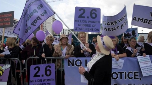 'Regret' over women's pension changes