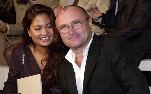 Phil Collins and ex-wife back together........