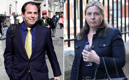 Banker in £1.2m divorce battle - did he