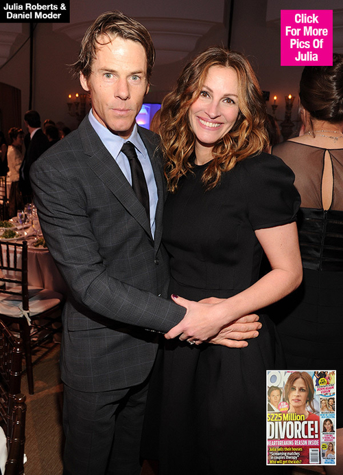 Julia Roberts and Danny Moder - the next celebrities to divorce?