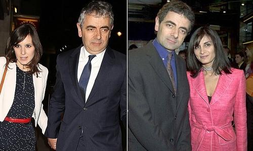 Mr Bean star, Rowan Atkinson's and his