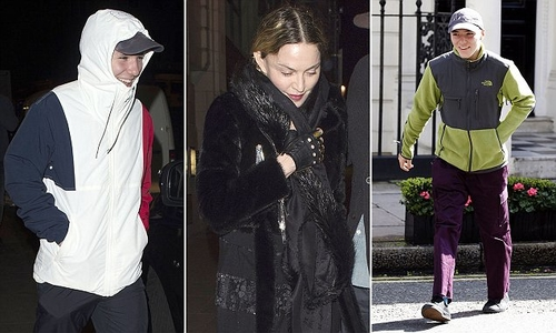 Madonna & son Rocco Ritchie build bridges after Madonna halted Court proceedings