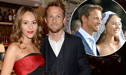 Jenson Button splits from his wife