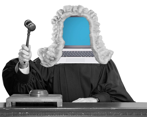 Replacing family  judges with robots?