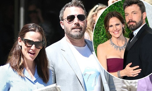 An amicable celebrity divorce?