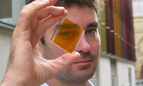 Transparent, coloured 'solar glass' panels secure another £8m fund
