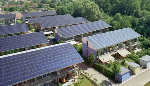 German solar city creating four times more energy than it uses