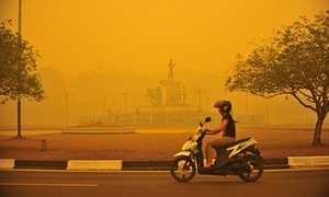Indonesia's raging forest fires are choking South-East Asia