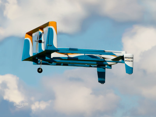 Amazon and UK Government in drones partnership