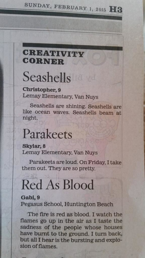 Disturbing Children's Poetry