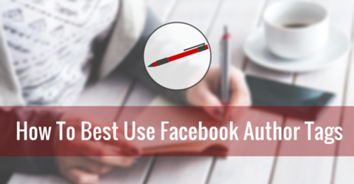 Facebook launches author tags