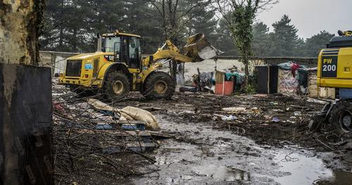 La France a expulsé un camp de Roms tous les 3 jours en 2014