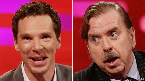 Timothy Spall and Benedict Cumberbatch