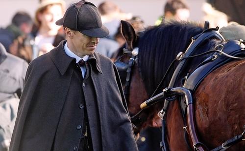 Sherlock special set in Victorian London