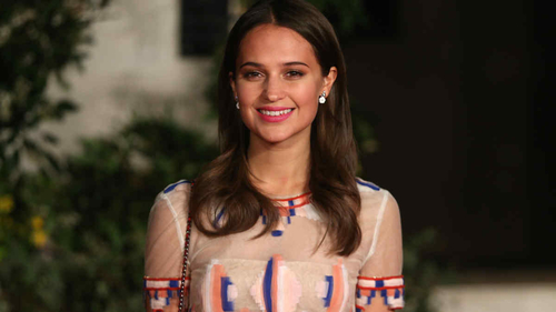 New Lara Croft to be played by Alicia Vikander