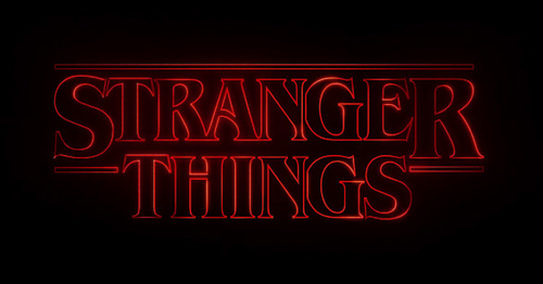 Art of the Title - Stranger Things