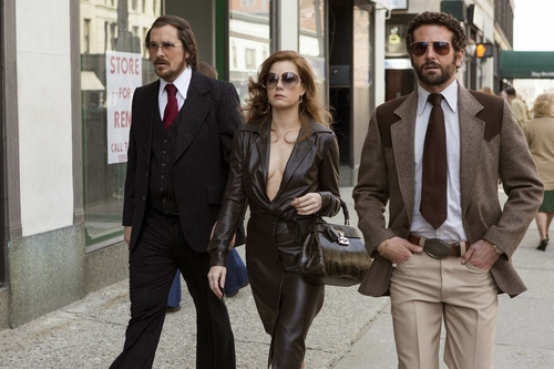 Finally made it round to watching American Hustle over the weekend...