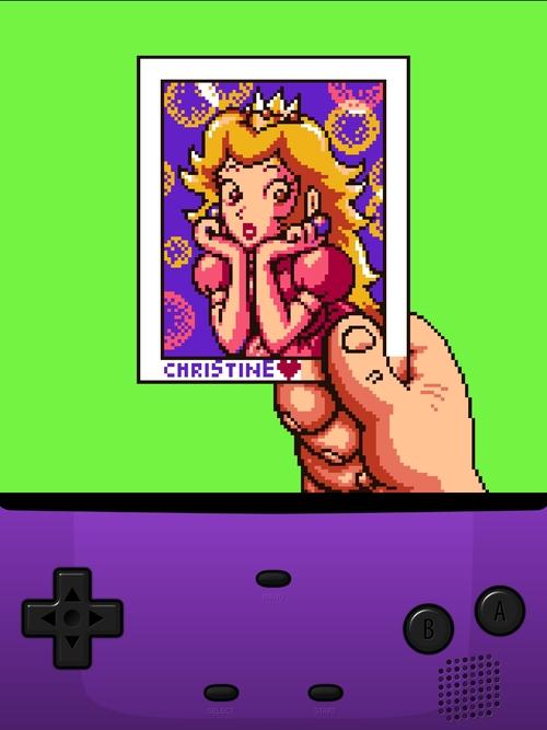 Princess Peach in Zelda