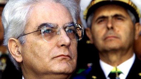 Sergio Mattarella is the new President of the Republic of Italy