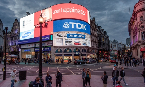 One of the best advertising spots in the world: Piccadilly Circus